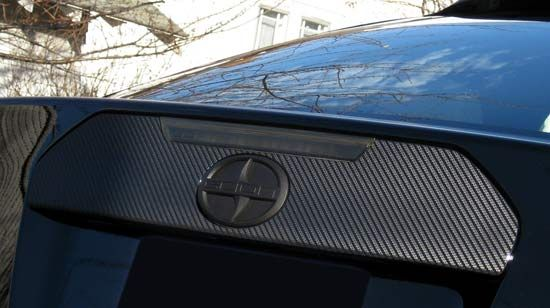 rear hatch overlay  Scion TC Exterior Accessories