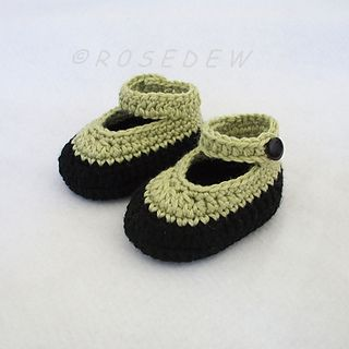 Free Crochet Pattern T Strap Booties : 147 best images about Crochet: Baby Booties #3: Mary Janes ...