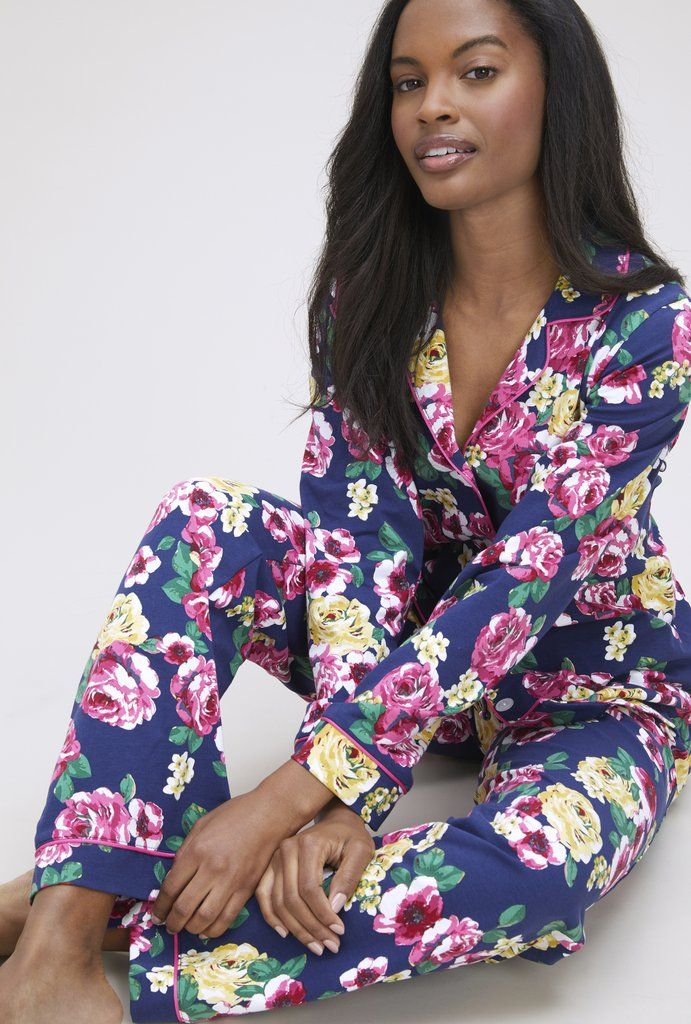 0dcefc75f6 Bella Rosa Stretch Long Sleeve Classic PJ Set