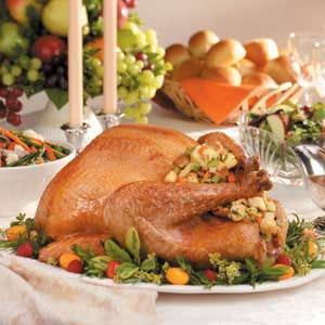 Thanksgiving Stuffed Turkey: