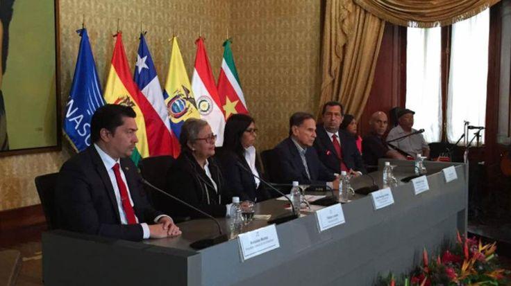 Venezuela entregó la presidencia de Unasur a Argentina