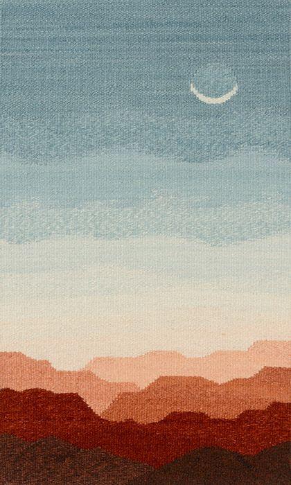 Tapestry Artist Linda Giesen: Moonlight