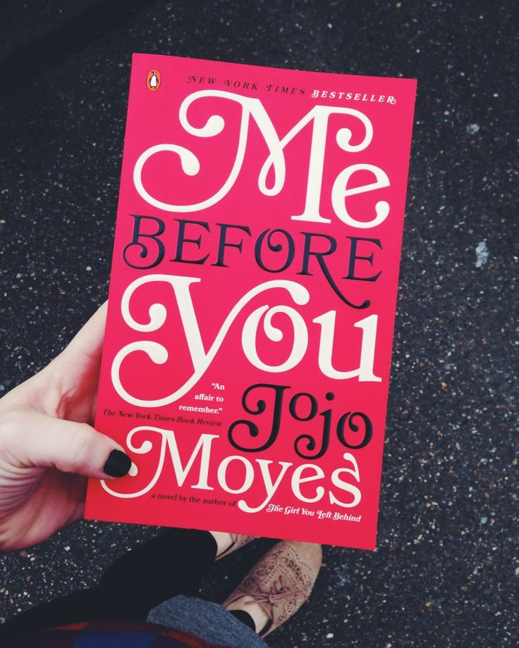 CURRENTLY READING - 'Me Before You' by Jojo Moyes - excited for this one