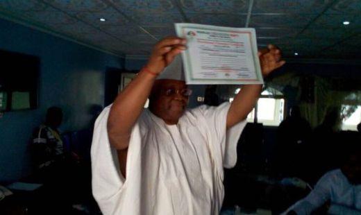 Adeleke Wins Osun West Senate Seat ----------- Ademola Adeleke of the Peoples Democratic Party has been officially declared the winner of the Osun West Senatorial bye-election.    #Adeleke  #AIYEDIRE #EDE NORTH #Ejigbo #IREWOLE #IWO #OLA-OLUWA