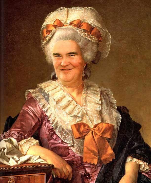Susan Boyle. | 35 Celebrities As Classic Paintings