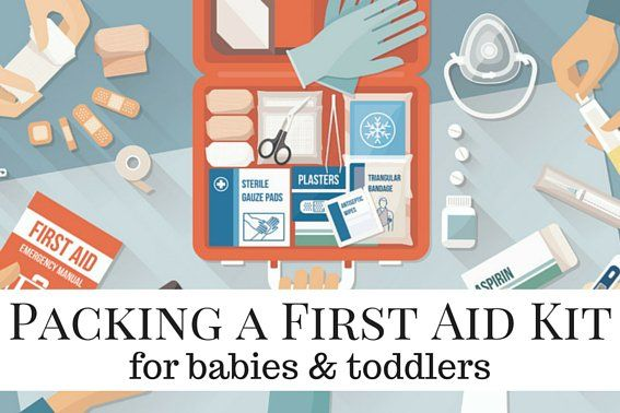 As a pharmacist and full-time mother, I know that being prepared with a first aid kit can be a lifesaver.Irecommend creating one packable kit that you can keep at the ready when packing for a trip.