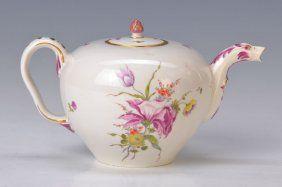 Teapot, Frankenthal To 1762-65