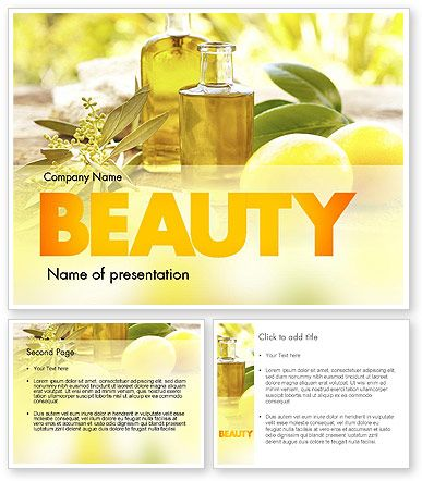 http://www.poweredtemplate.com/11457/0/index.html Olive Essential Oils PowerPoint Template