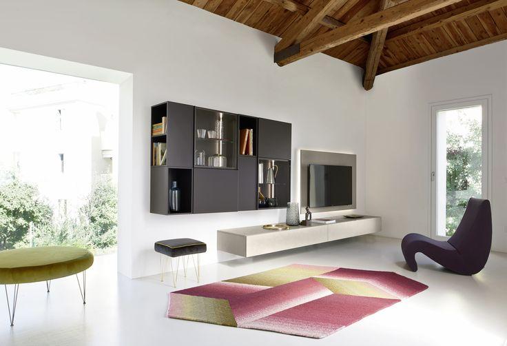 Die besten 25 b cherregal weiss ideen auf pinterest for Design wohnzimmerwand