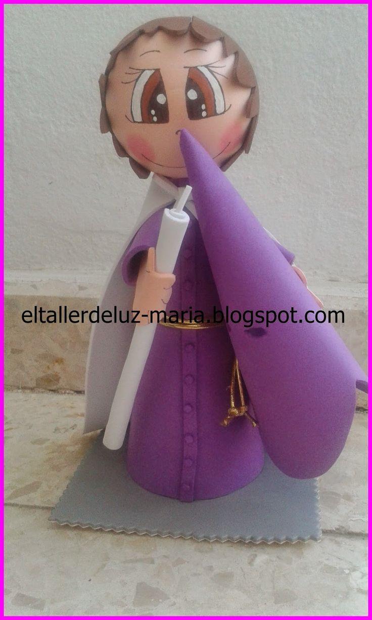 EL TALLER DE LUZ MARIA: FOFUCHO NAZARENO HERMANDAD DE NUESTRO PADRE JESUS ...