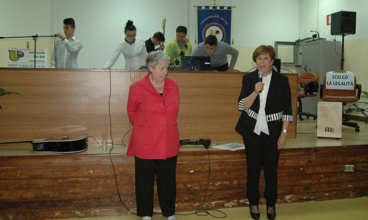 'Costruiamo la legalità', giovani protagonisti assieme a Rita Borsellino L'appuntamento su iniziativa dell'Università delle Tre Età all'Istituto 'Palizzi'