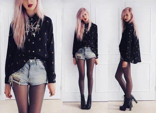 Fashion Rock Style Pesquisa Google Punk And Rock Style