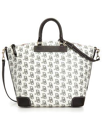 Dooney & Bourke Signature DB 75 Vanessa Satchel - Dooney & Bourke - Handbags & Accessories - Macy's