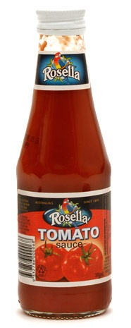 A popular brand of Tomato sauce - This is a must have with the rissoles, sausages, hamburghers, savoury mince...... elsewhere called ketchup. Some people can not live without it, and actually put it on literally everything (Oh how I whince when I see someone putting it on a lovely roast)