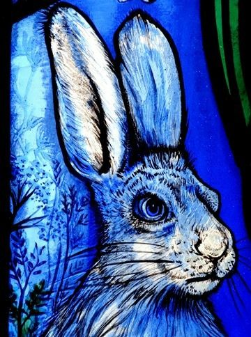 Jude Tarrant stained glass artist