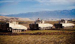 Norwegian soldiers on patrol in Faryab province, Afghanistan.