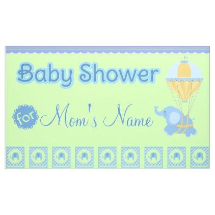 #trendy - #Baby Boy Baby Shower Banner