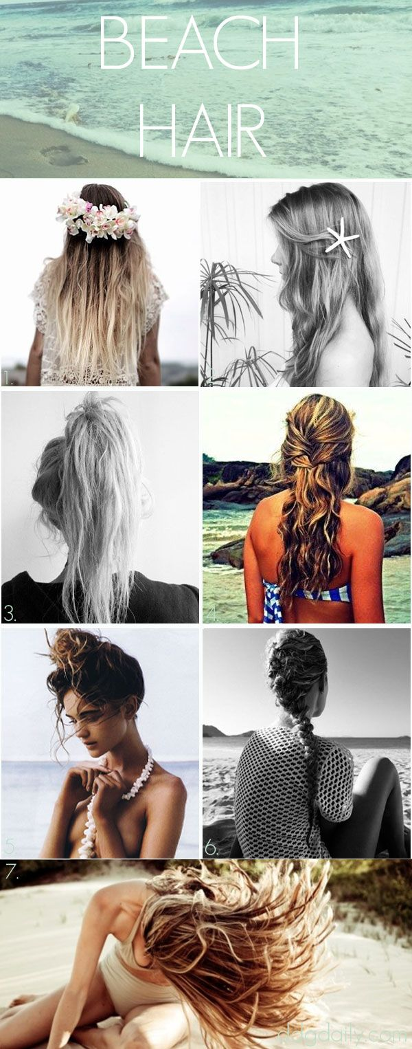 Ocean baby: A DDG moodboard full of beach-appropriate hairstyles - dropdeadgorgeousdaily.com