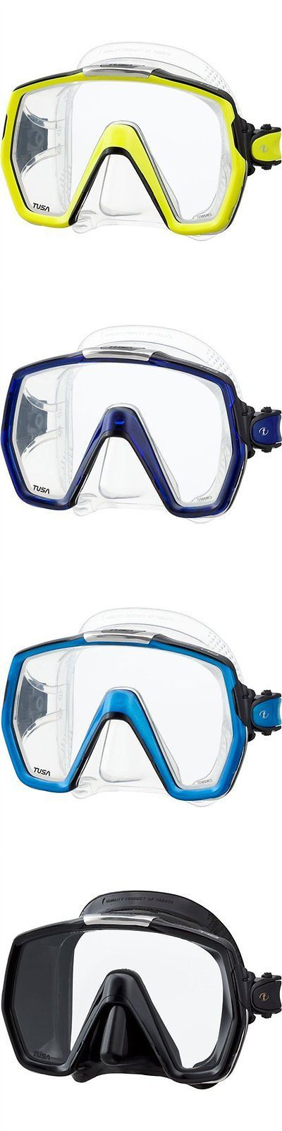 Masks 71161: Tusa M1001 Freedom Hd Scuba Diving Mask - Flash Yellow -> BUY IT NOW ONLY: $71.2 on eBay!