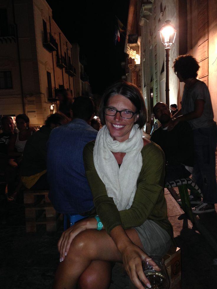 DAY 9 - Night walk and aperitivo al Malandrino in Castellammare del Golfo http://www.ilmalandrino.com