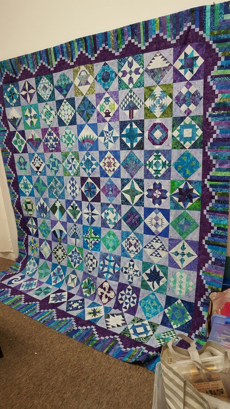 My Farmers Wife Quilt This was a group effort with the 12 women in TOGS.