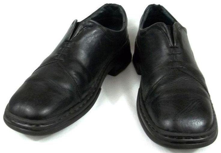 Josef Seibel Shoes Womens Size US 11 11.5 B EUR 42 Black Leather Oxfords #JosefSeibel #Oxfords