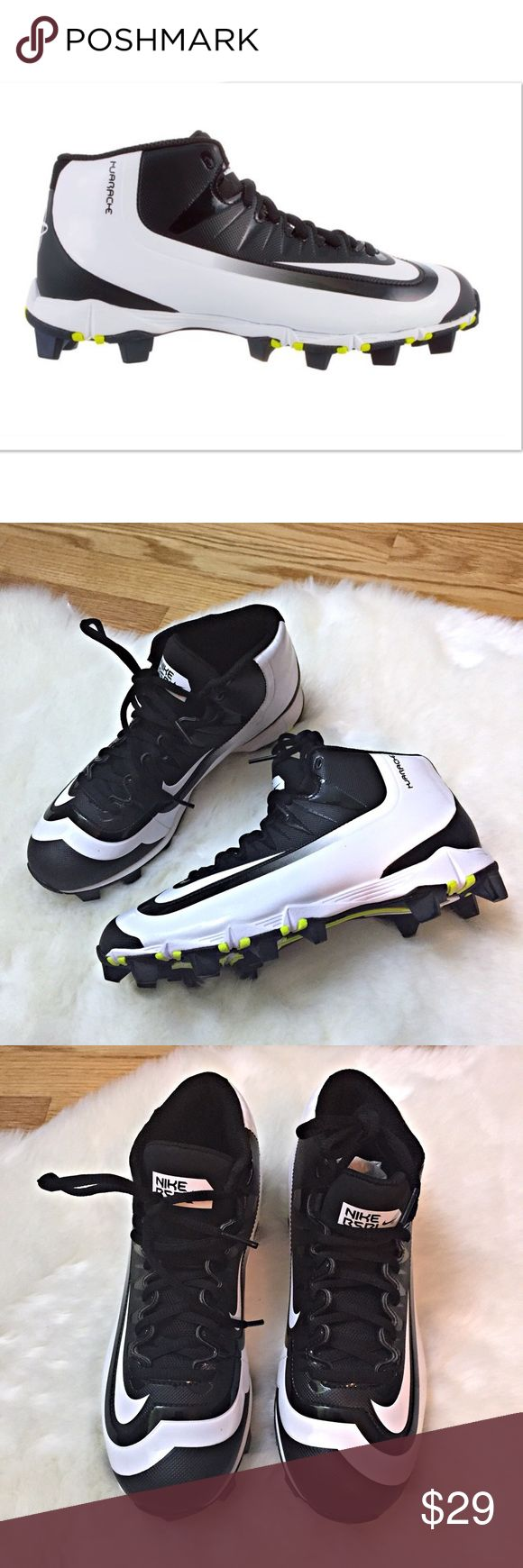 green and black baseball cleats nike training camp 2016