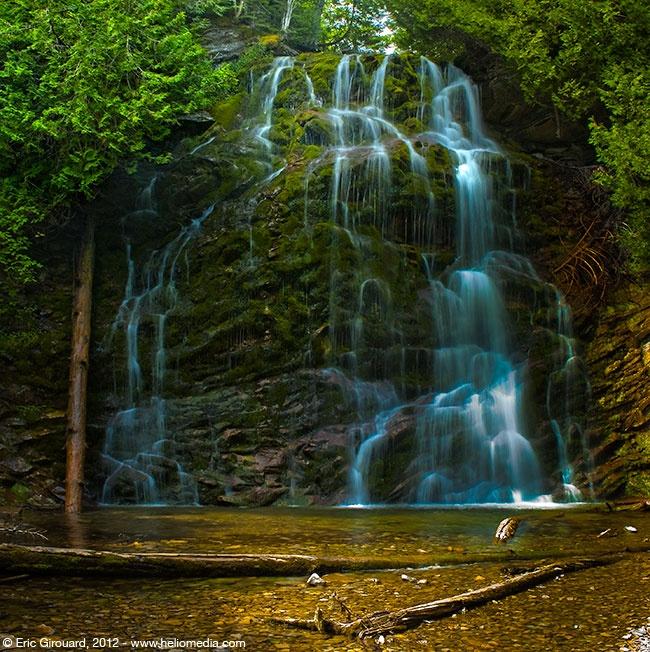 La Chute in Forillon National Park, Quebec, Canada.