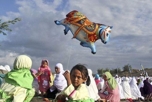 July 28, 2014 Eid ul-Fitr 2014: A Celebration At The End Of Ramadan (PHOTOS)