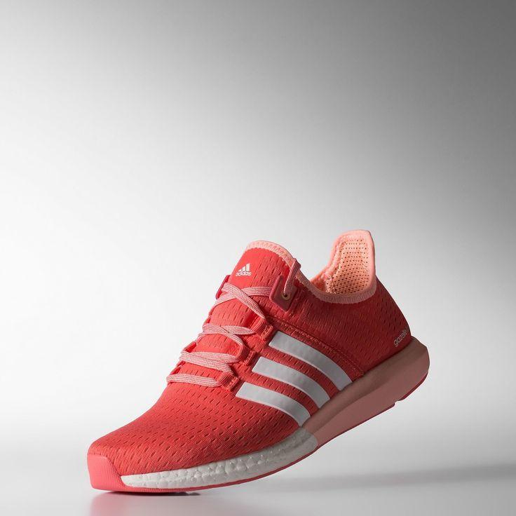 adidas Кроссовки для бега женские ClimaChill Gazelle Boost - красный | adidas Россия