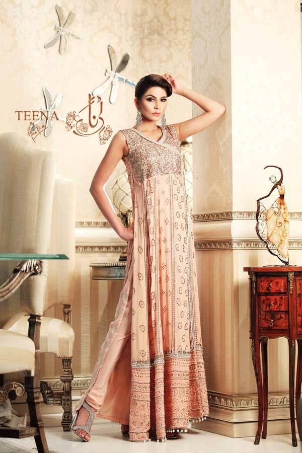Special Teena by Hina Butt Bright Gathering Wear garments for Ladies