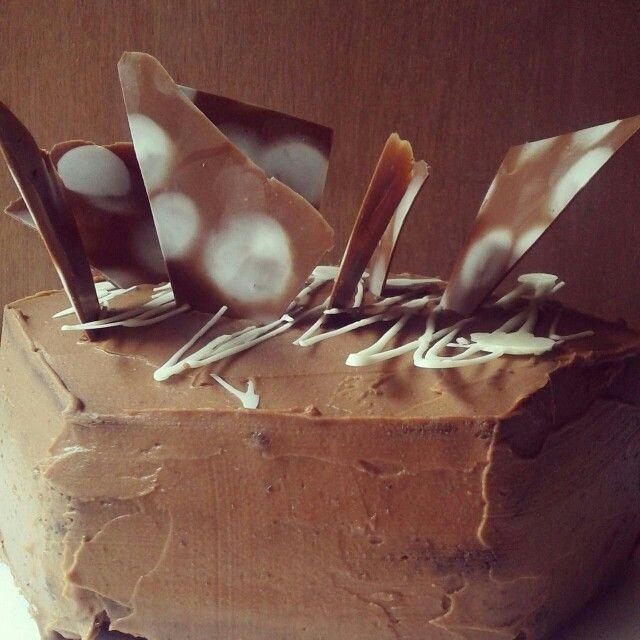 Rústica de chocolate