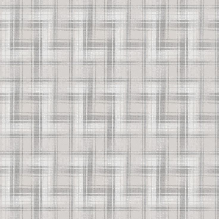 Tartan Pale Grey wallpaper by Boråstapeter