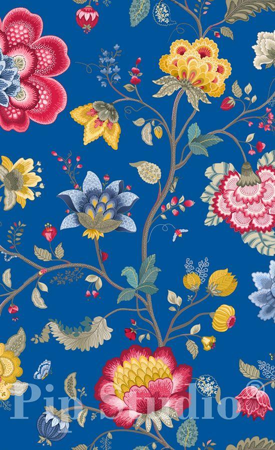 Papier peint Floral Fantasy                                                                                                                                                                                 Plus