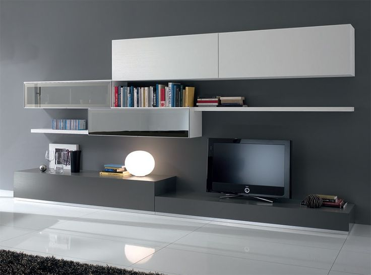 Modern Wall Unit Exential Y23 by Spar - $6,425.00