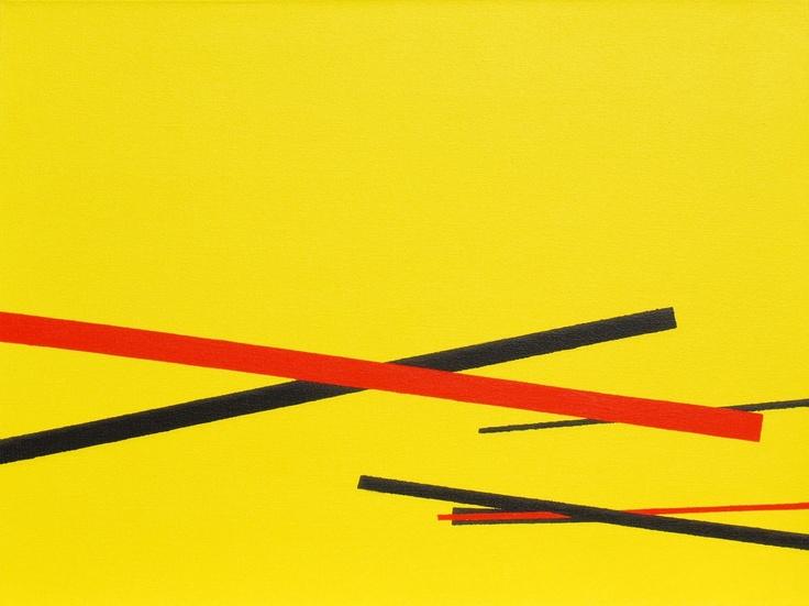 """Sliding into the Sunshine - Victoria Park"" (2011) ~ 24in x 18in ~ acrylic on canvas ~ Chris Billington"