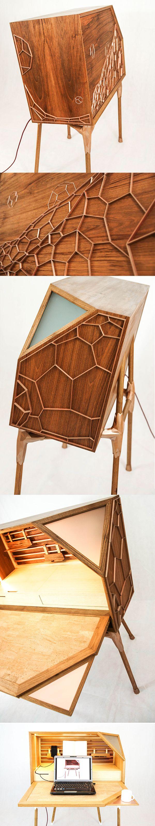 1d0dc7bb414add1a72327d390ffe6b72--secretary-desks-ash Impressionnant De Table Transformable Concept