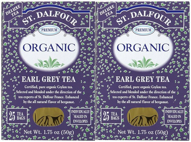 St. Dalfour Organic French Tea, Earl Grey, 25 ct, 2 pk -- You can get additional details at the image link. (This is an affiliate link) #BlackTea