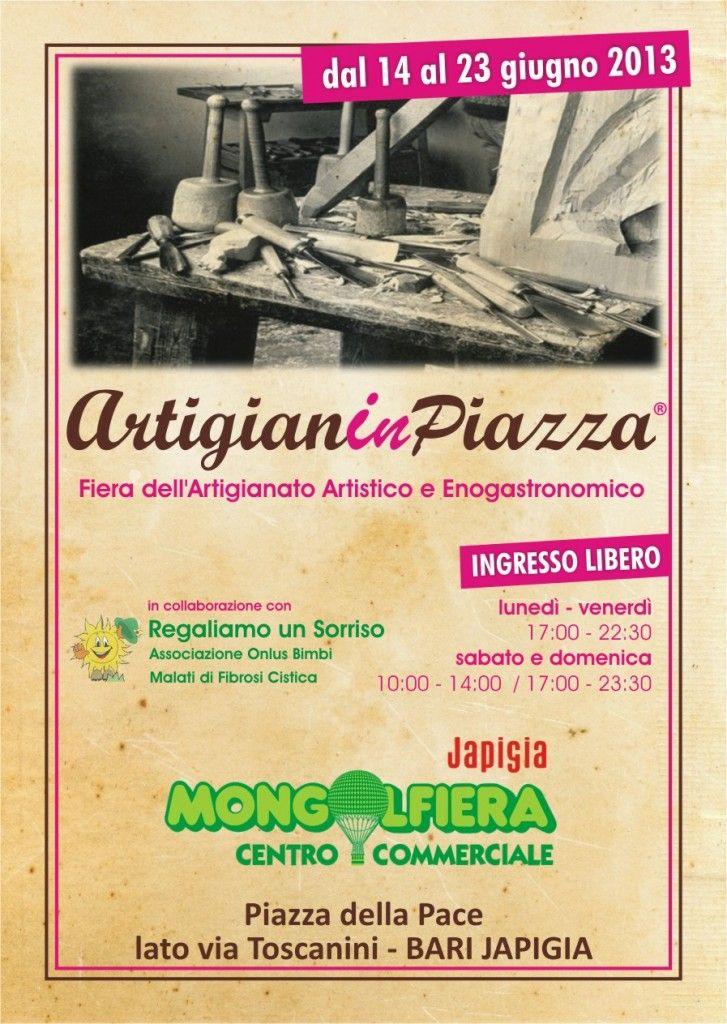 Artigianinpiazza - Bari 14 - 23 giugno