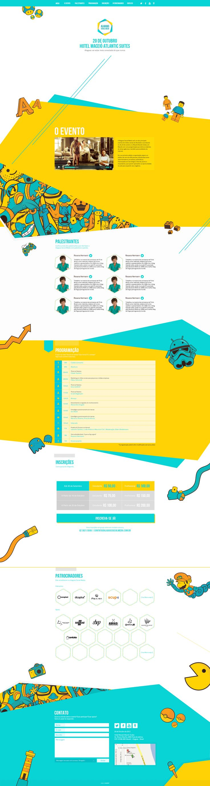Unique Web Design, Alagoas Social Media #webdesign #design (http://www.pinterest.com/aldenchong/)