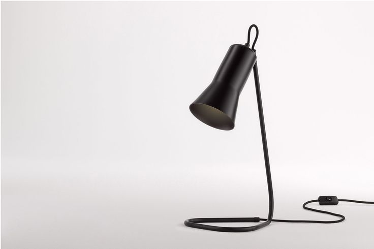 Ross Gardam | Silhouette Lamp in black anodised