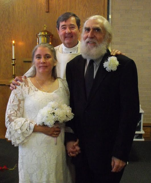 Missy's Snapshots: Mr. & Mrs. Stanley Rogers Bryant With Monsignor Farrell