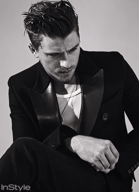 Garrett Hedlund Sits for InStyle December 2014 Photo Shoot | เท่เว่อ