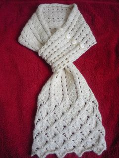 Lacy Scarf pattern by Kirstie McLeod