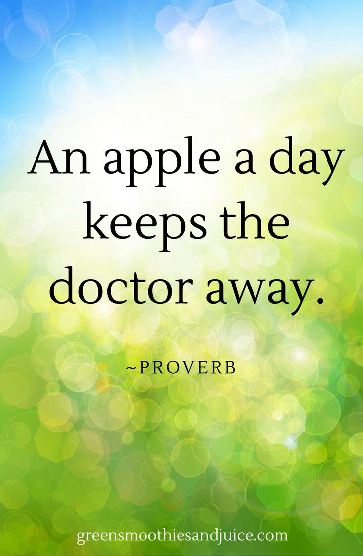 Everybody's heard this old proverb. It's so simple, but there's so much truth to it! #realfood #eatrealfood #cleaneating