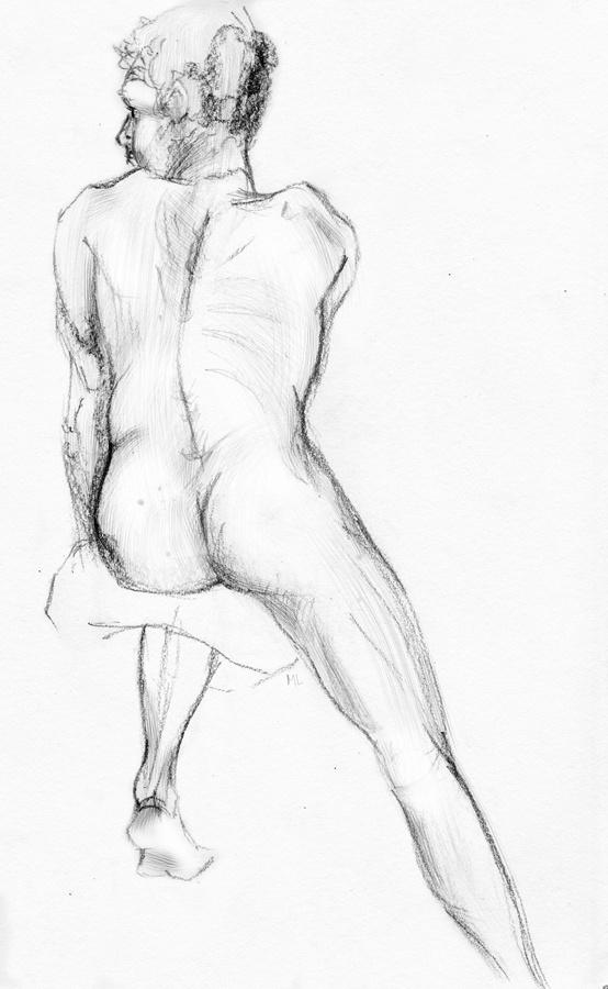 Life Drawing by Melissa Lamb, via Behance