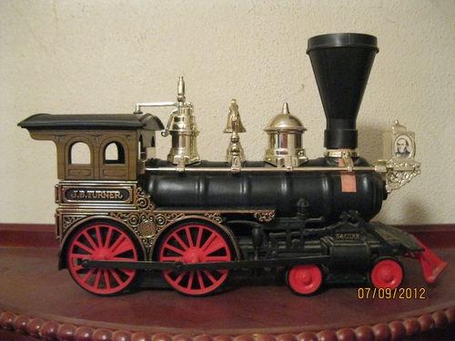 Jim Beam Vintage Train Engine Decanter Vintage Jim Beam