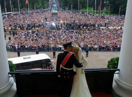 Royal wedding of the Crown Prince and Princess of Norway