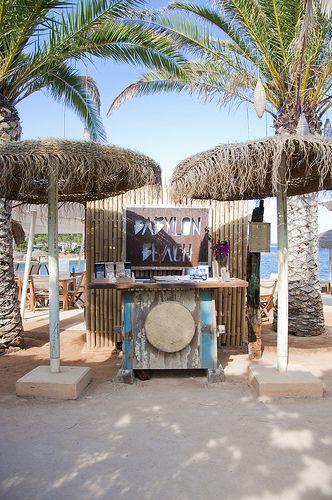 Babylon Beach Ibiza, Ibiza beach restaurant - White Ibiza barefootstyling.com
