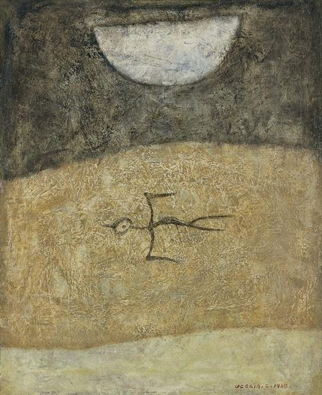 Ucchin Chang, The Moon and a Bird